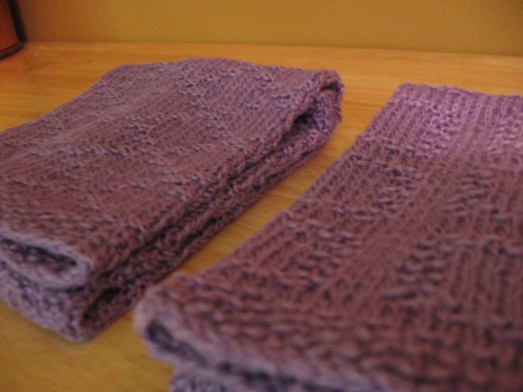 Diamond Grid Knitting Pattern : AJKnitting: November 2006