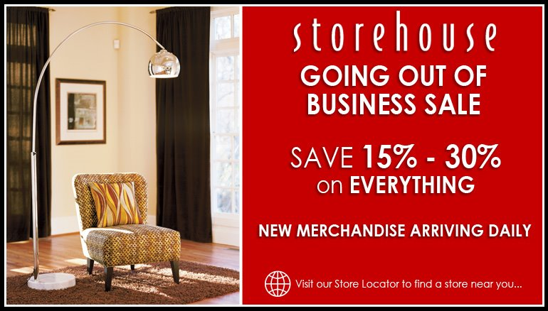Storehouse Furniture, Known For Its Mid Price Upscale Modern/contemporary  Furnishings, Will Be Closing All Seventy Of Its Locations Nationwide In The  Next ...