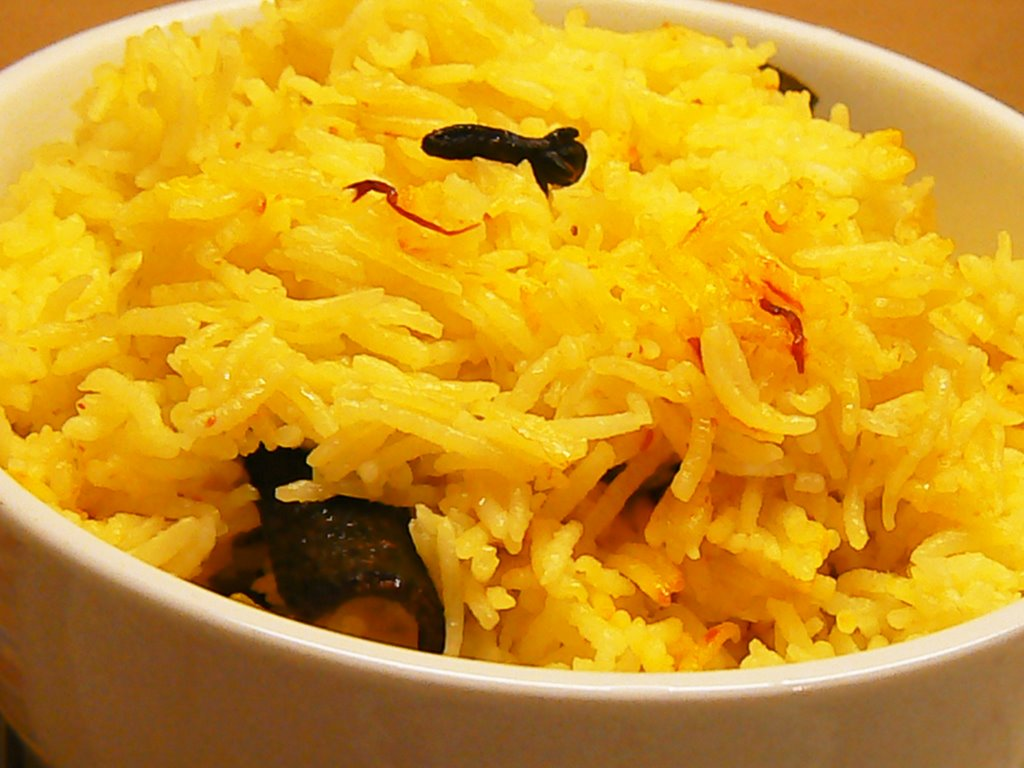 Monsoon Spice | Unveil the Magic of Spices...: Saffron Rice