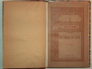 Omslag Julia; particuliere collectie