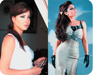 Nancy Ajram and Haifa Wahby