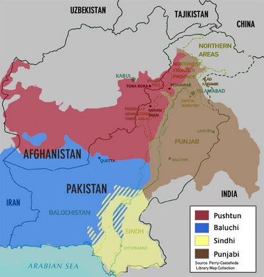 Pakistan's Main Ethnic Composition