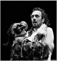 la foto dello spettacolo borghese gentiluomo tratto da moliere, al teatro everest