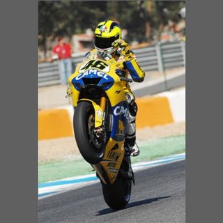 ROssi Wheelies the M1