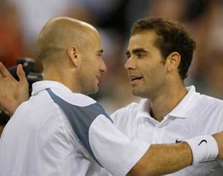 Agassi n Sampras - The rivals on court