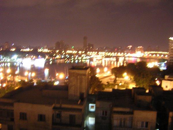 De Nijl 's nachts