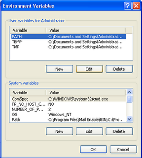 ora3 Setting Oracle XE instant client  with XAMPP and Windows XP