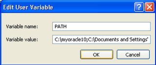 ora4 Setting Oracle XE instant client  with XAMPP and Windows XP