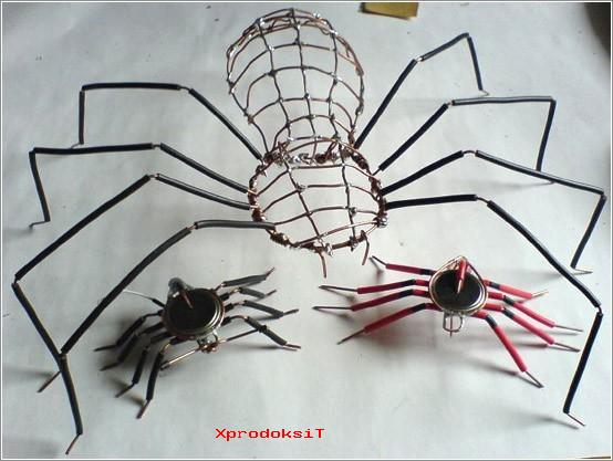 Как сделать паук на русском 594