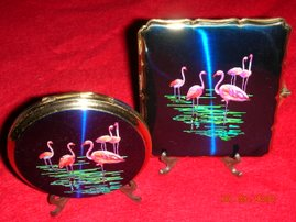 Stratton Cigarette Case & Powder Compact