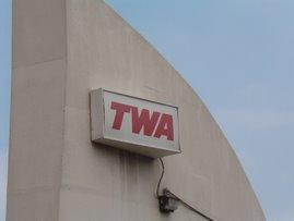 TWA Crew Bus Stop