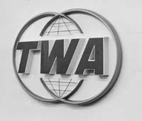 "Trans World Airlines 1970""s logo!"
