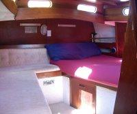 Yacht Keturah owner cabin