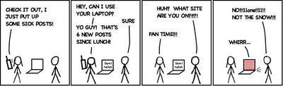 xkcd parody - fan time