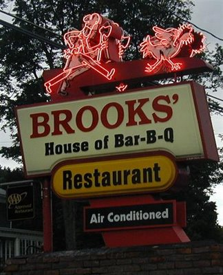 Brooks House of Barbecue, Oneonta NY