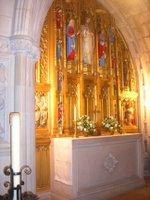 Crypt altar