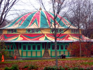Restored Carousel building