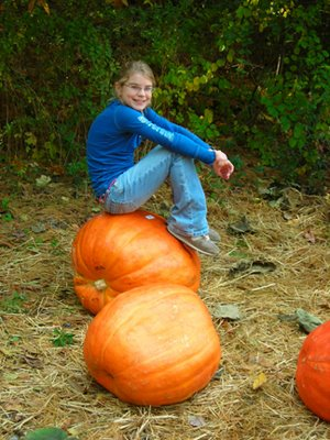 Is this the Great Pumpkin, Mom?