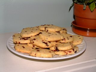 Cornmeal Cherry Cookies | Cafe Johnsonia