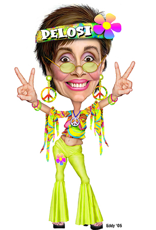 nancy pelosi hippie