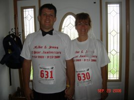 AFTER: Our 17th Wedding Anniversary 9-23-06