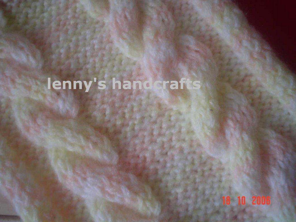 Merajut Knitting Dengan Benang Syal Kabel