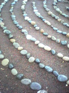 The labyrinth at San Damiano Retreat Center.