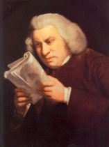 Samuel Johnson 1709-1784