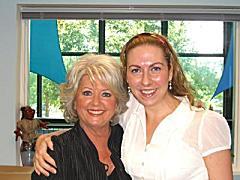 Paula Deen and Teresa Masterson