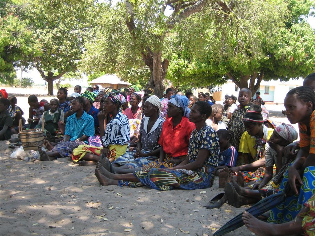 D Exhibition Zambia : Chad in zambia sunga village