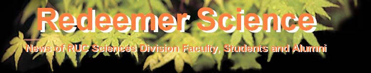 Redeemer University College Science News