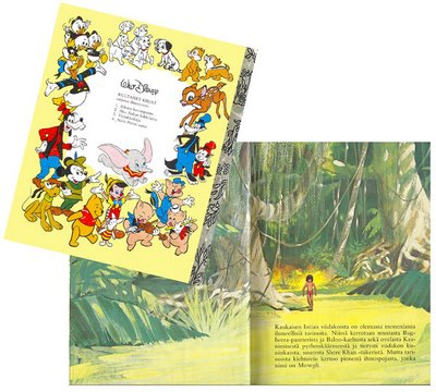 Kultainen kirja - Viidakkokirja