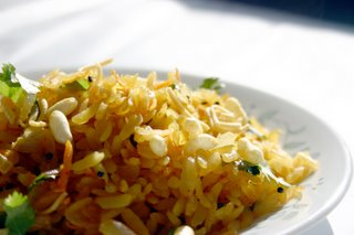 Onion Poha