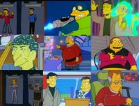 Star Trek meets the Simpsons