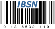 IBSN: Internet Blog Serial Number 0-13-8532-110
