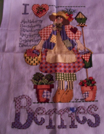I love series ozarks crafting living for Country living magazine cross stitch