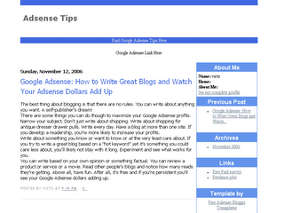 blog spot templates