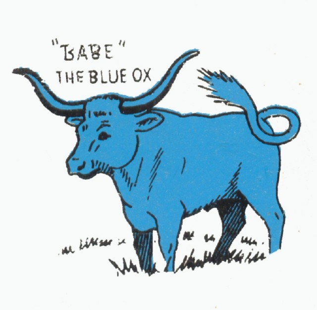 The peopletron focus tall tale coasters babe the blue ox