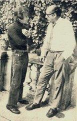Alejandro Vignati entrevista a Antonio Ribera en su casa de Barcelona, 1970