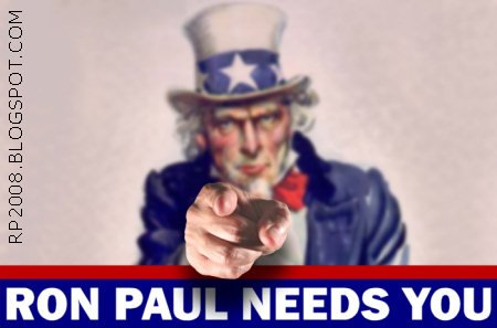 ron paul needs your support