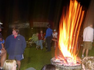 Catching the bonfire...