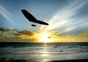 The Glider-&-The Sunset