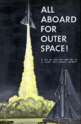 Mechanix Illustrated: All Aboard for Outer Space!
