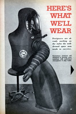 Mechanix Illustrated: Here's What We'll Wear in Space