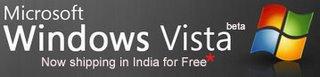 Get Free Windows Vista DVD in India