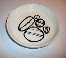 assiettes : creuse, plate, dessert