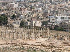 Jerash, ancient Roman ruins...