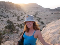 Sunset hike at the Bedouin camp