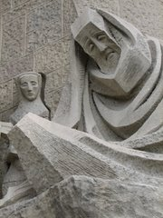 A favorite face on La Sagrada Familia....