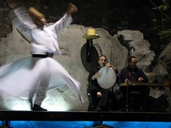 Whirling dervish in Turkey...